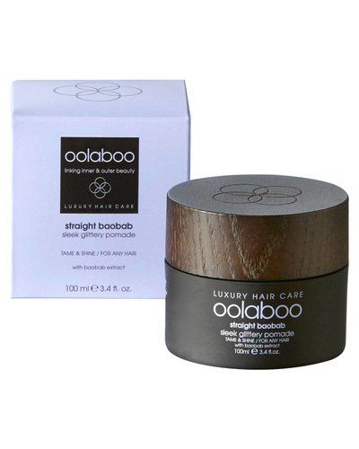 Oolaboo Straight Baobab Sleek Glittery Pomade 100ml