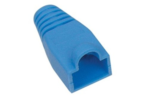 Strain Relief Boot RJ45 10pcs 6mm Blue