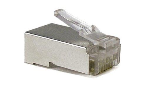 CAT5e Connector RJ45 -STP 100 stuks