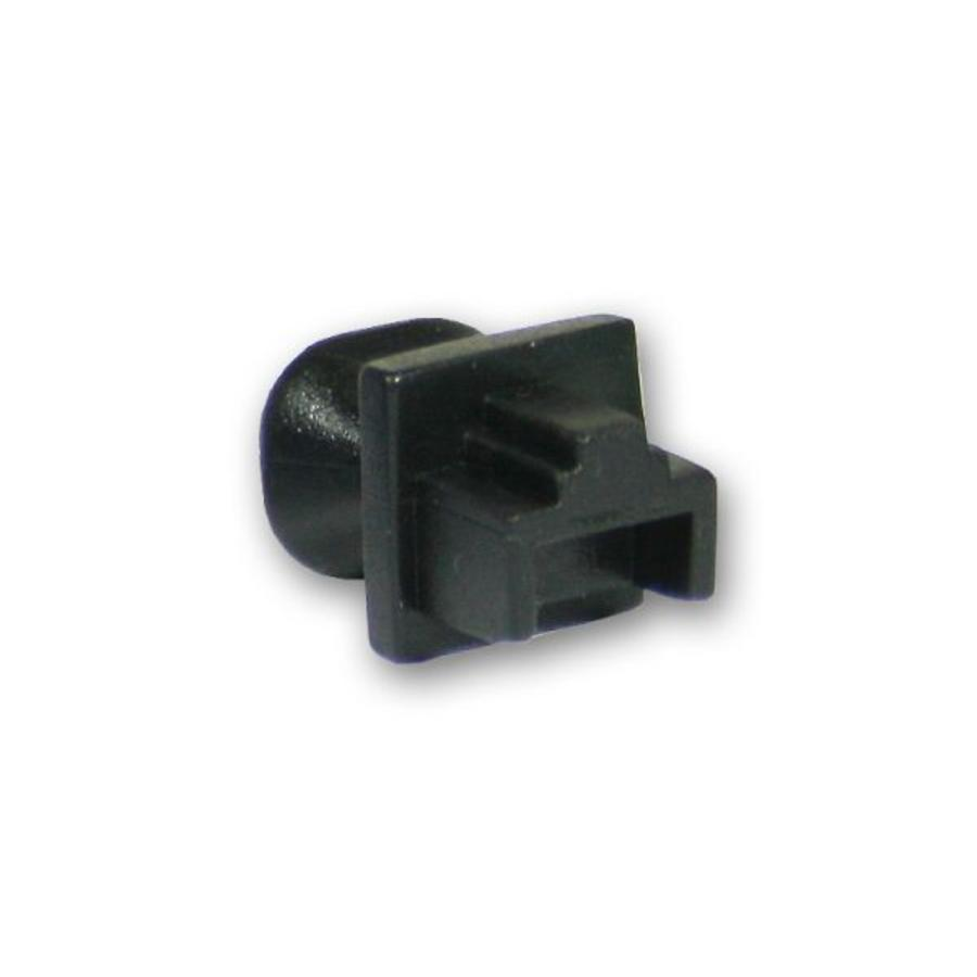 Blindstopjes voor uw ongebruikte RJ45 poorten zwart 10 stuks