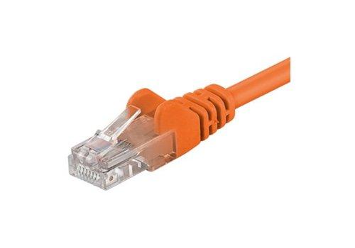 Cat5e 15M oranje UTP kabel