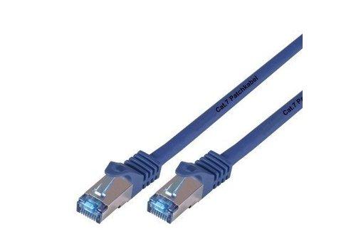 Cat7 1M Blauw SSTP/PiMF halogeenvrij patchkabel