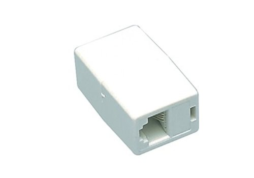 Cat5e RJ45 Modulair Coupling White