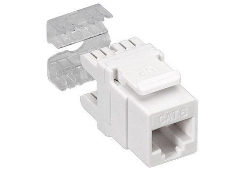 CAT6 Keystone RJ45 unshielded wit