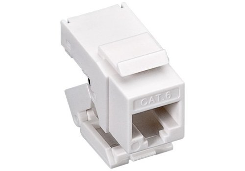 Toolless CAT6 Keystone RJ45 unshielded wit