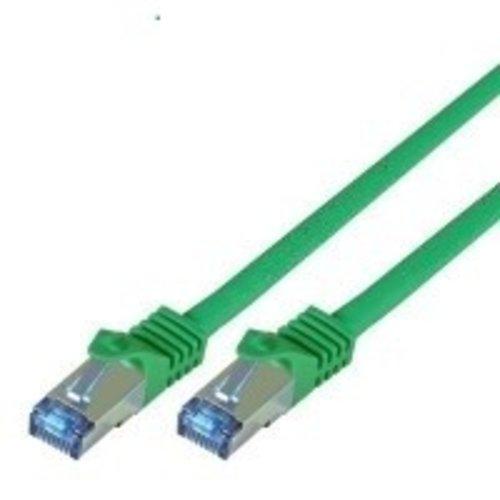 Cat7 0.25M Groen SSTP/PiMF halogeenvrij patchkabel