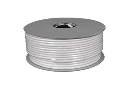 Coaxial Cable 100 dB CCS 100M White