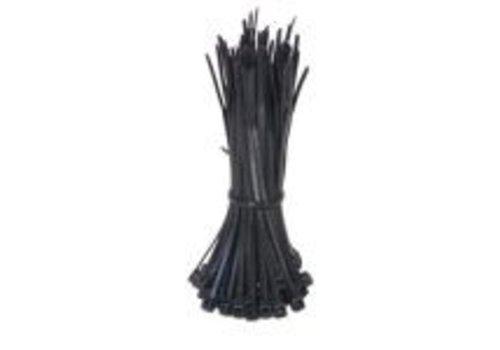 Kabelbinders 4,8 x 200mm zwart 100 stuks