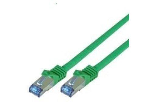 Cat7 7.5M Groen SSTP/PiMF halogeenvrij patchkabel