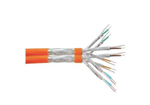 S/FTP CAT7A 1000MHz duplex netwerkkabel stug 100M koper halogeenvrij