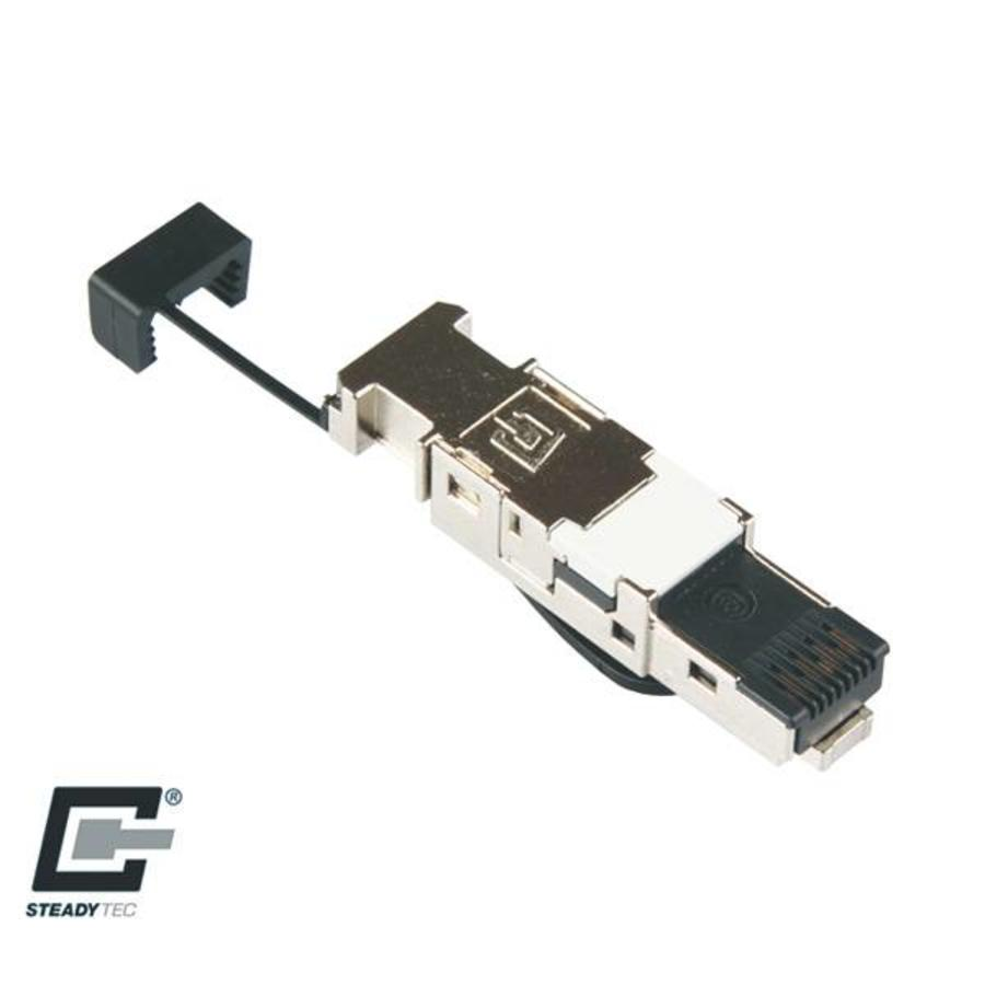 cat7 connector rj45 shielded toolless 1 stuk. Black Bedroom Furniture Sets. Home Design Ideas