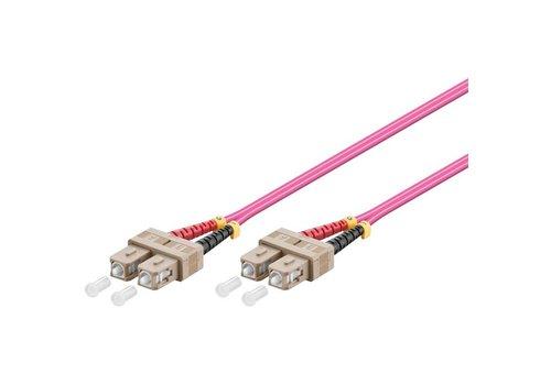 Fiber Patch Cord OM4 50/125µ SC-SC 0.5M