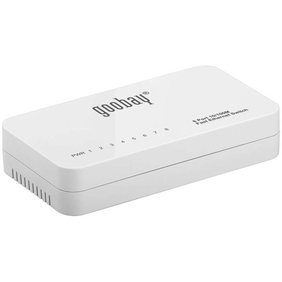 8-POORTS FAST ETHERNET SWITCH 10/100 MBPS