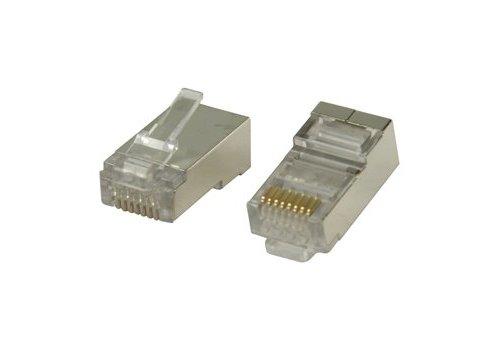CAT6 Plug RJ45 - STP 10 pcs