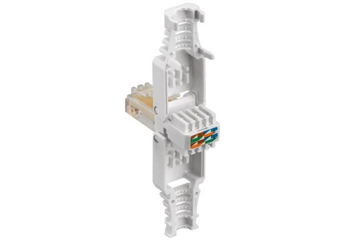 Cat5 Toolless RJ45 Connector With Strain Relief Boot