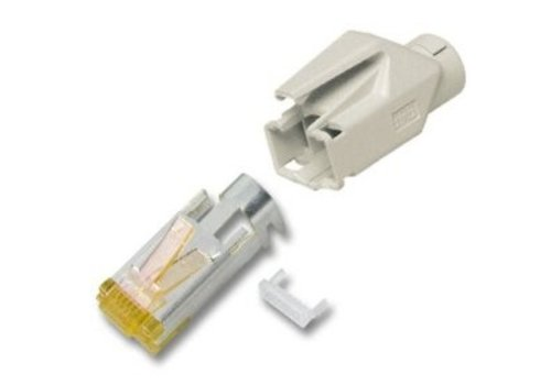 Cat6a Hirose Connector RJ45 For Stranded Cable 10pcs