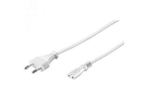 Powercable CEE 7/16 (male) to C7 (female) 1.5 M