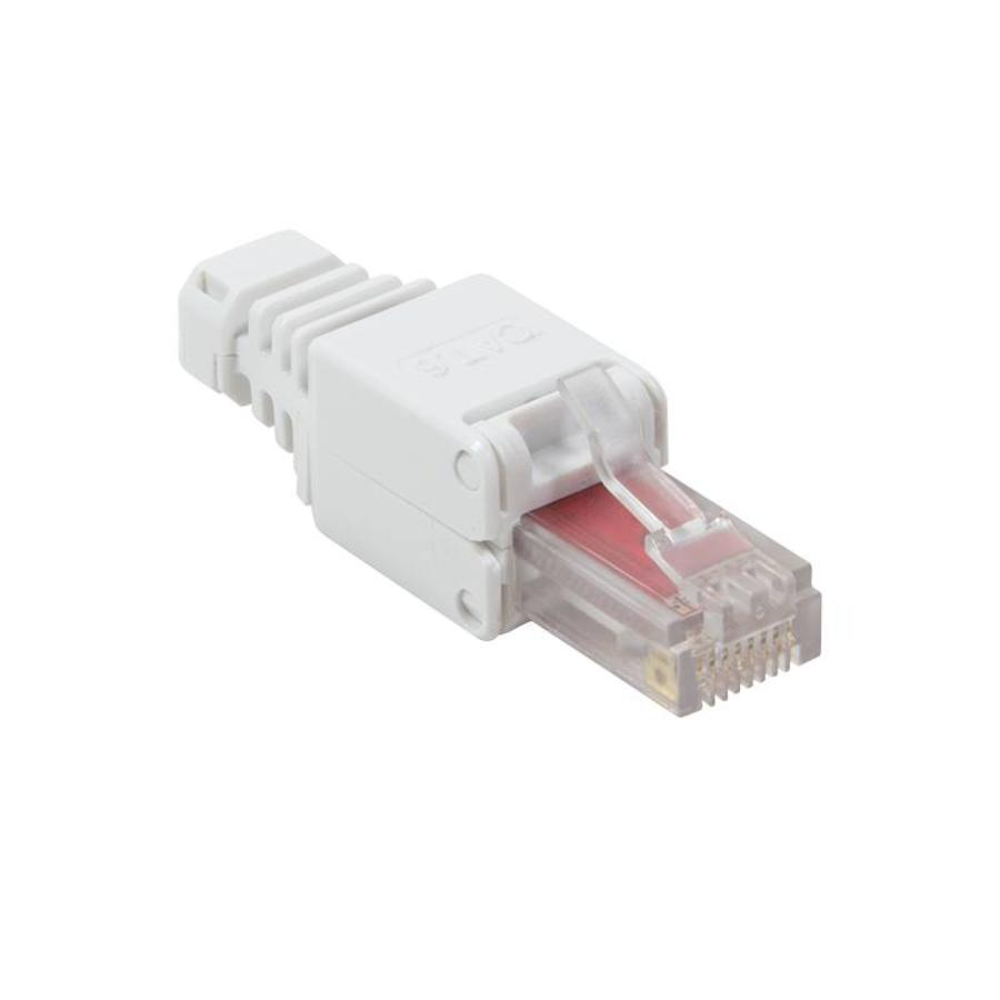 Cat6 Toolless RJ45 connector met tule