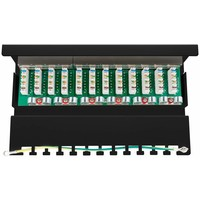 CAT 6 Mini/Desktop Patch Panel 12 Poorts