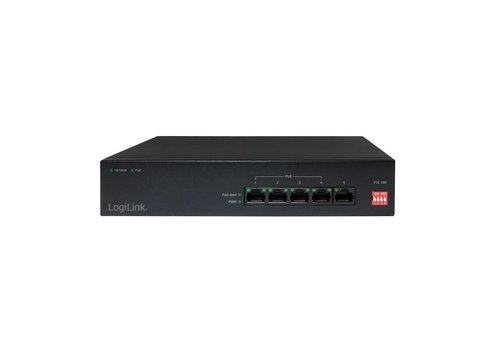 Power over Ethernet (POE) switch 5-POORTS 10/100MBPS