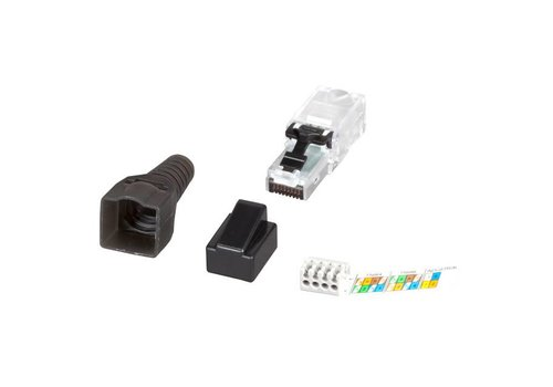 CAT6A Connector RJ45 UTP Toolless 1 stuk