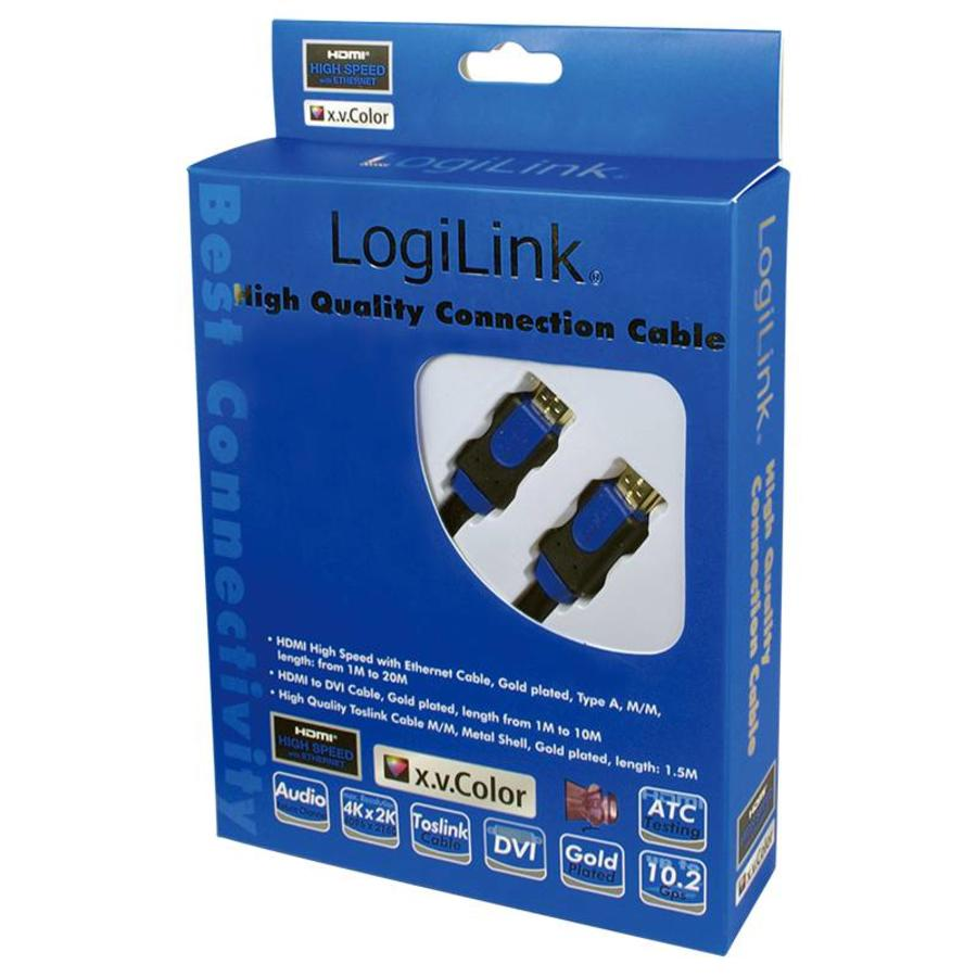 High Quality 4K HDMI 2.0 kabel met ethernet 1 meter