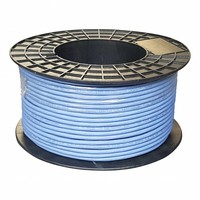 UTP CAT6a netwerkkabel stug 100M 100% Koper Blauw
