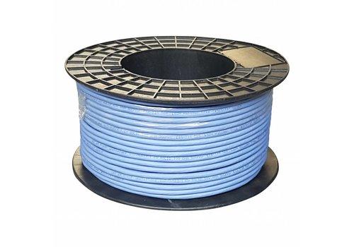 UTP CAT6a netwerkkabel stug 100M koper blauw