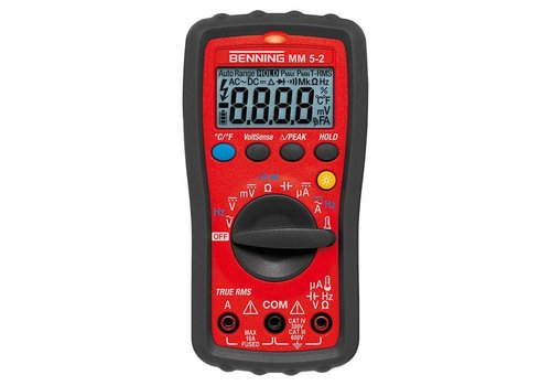 BENNING BENNING MM 5-2 Digital Multimeter TRUE RMS