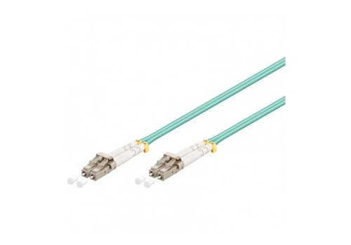 Fiber optic cable LC-LC OM3 2m