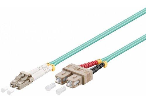 Fiber Fiber Cable LC-SC OM3 0.5m
