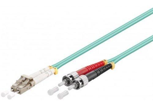 Fiber Fiber Cable LC-ST OM3 0.5m