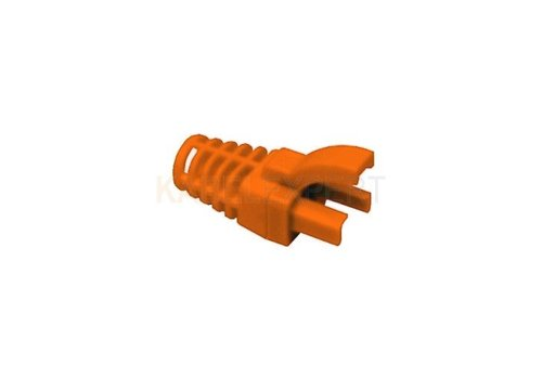 Strain Relief Boot for RJ45 6.3mm Orange