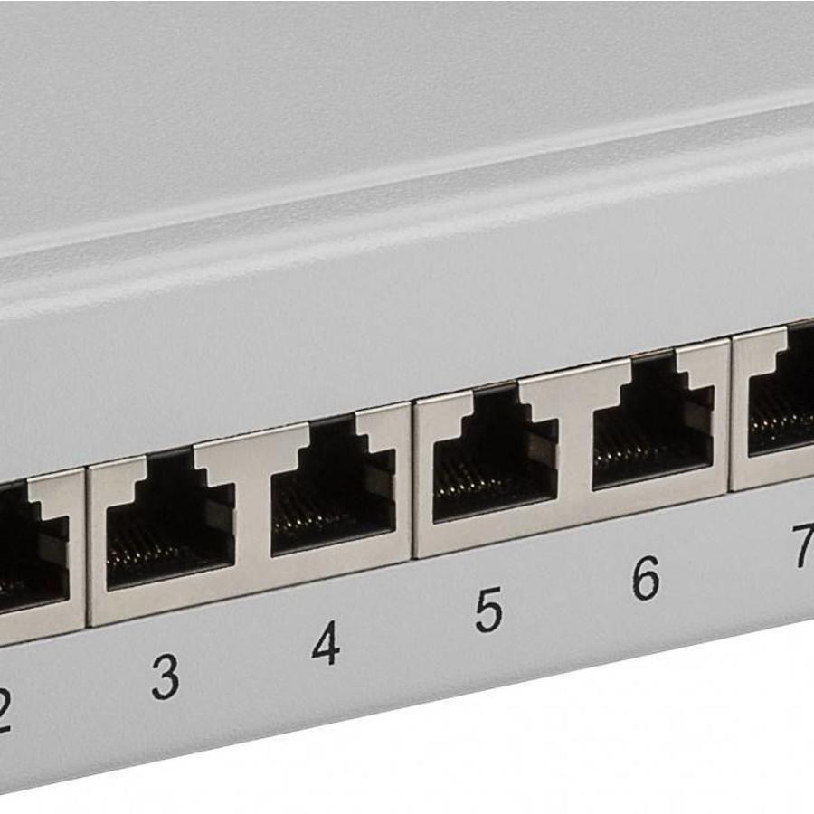 CAT 6 10 inch patch panel 12 poorts
