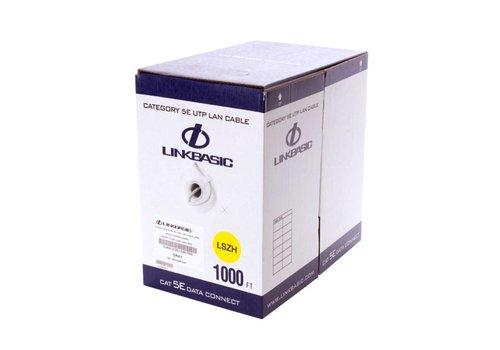 CAT5e U/UTP stug LSZH 305M 100% Koper CPR ECA