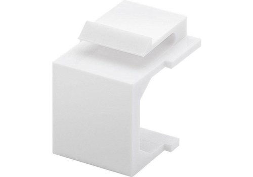 Keystone-kapje (pak van 4) wit