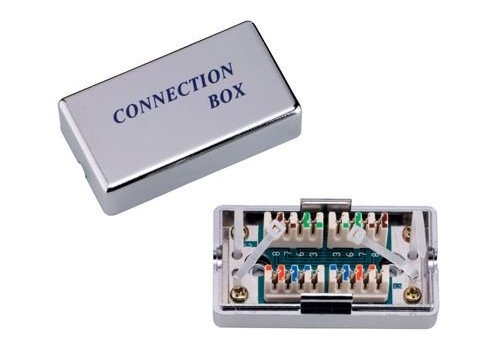 Network connection box CAT 5e STP