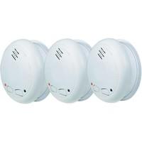 Alecto 3 détecteurs de fumée Alecto connectables - kits de montage magnétiques GRATUITS!