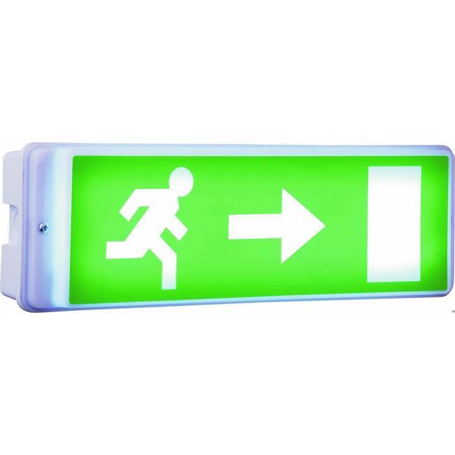 Elro Éclairage de secours Elro avec lampe à LED, y compris quatre étiquettes de direction