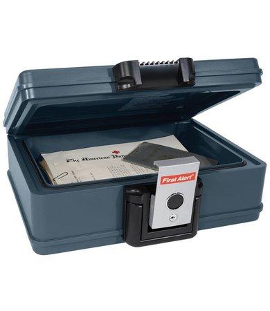 acheter le coffre fort first alert r sistant au feu et l 39 eau commandez en ligne maintenant. Black Bedroom Furniture Sets. Home Design Ideas