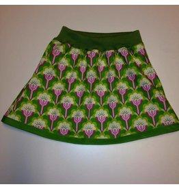 rokje maat 86-92 paars groen