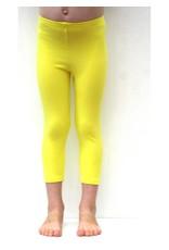 3/4 legging geel
