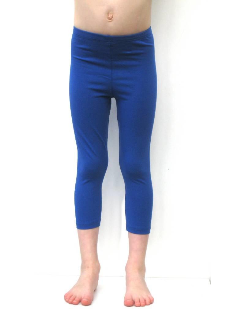 3/4 legging kobalt blauw
