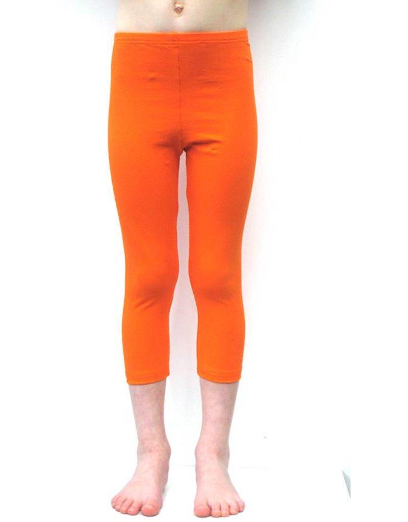 3/4 legging oranje