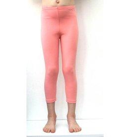 3/4 legging zalm