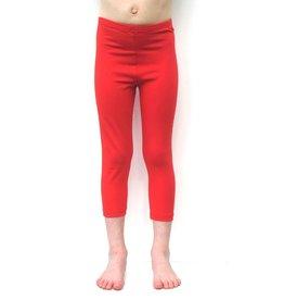 3/4 legging rood