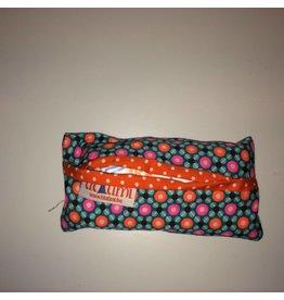 zakdoekhoesje oranje, roze en blauw petit pan