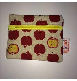 ritstasje M rits vooraan appels