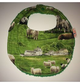 slab schapen en boerderij