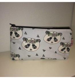 make-up tas groot panda's